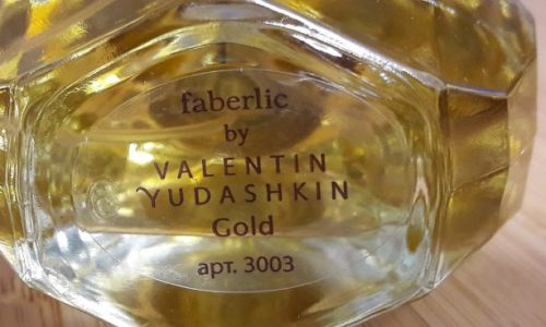 Парфюмерная вода Faberlic by Valentin Yudashkin Gold